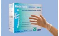 Gant d'examen Vinyle stérile Anallergique
